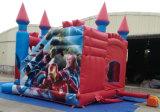 2016 4.5X5m Inflatable Bouncer Slide Combo Avengers Castle für Sale Overseas