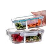 Food Grade 3 ПК в форме квадрата герметичный контейнер для хранения