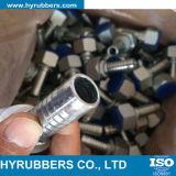 Type hydraulique embout de garnitures pour le boyau