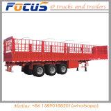 3axles Aanhangwagen van de Doos van het Vervoer van de Lading stortgoed de Semi