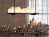 Iluminação de suspensão da lâmpada do candelabro decorativo tão maravilhoso do hotel do vintage em L950mm