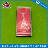 중국 주문을 받아서 만들어진 로고를 가진 만화 Keychain 장비 금속 사기질에 의하여 개인화되는 열쇠 고리