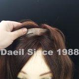 女性の人間の毛髪の波状毛の閉鎖