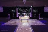 Night Club em acrílico de Casamento Preto e Branco estrelado de LED de Dança para venda