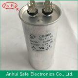 AC Run Capacitor Cbb65 450V Air Conditon 130UF Aluminum