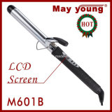 Popular Chrome Barrel Hair Curling Iron, Got Timer Function