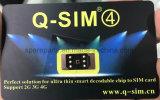 A venda quente destrava o estábulo do cartão Q SIM de SIM para iPhone5/5c/5s/6/6s/7/8/X (R-SIM)