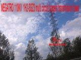Multi torretta della trasmissione di tangente del circuito di Megatro 110kv 1h2-Ssz3