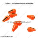 Gota do rasgo do tungstênio de 96% com entalhe longo 08A-303