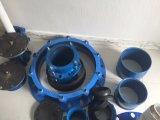 Riparare la giuntura di Gibault del tubo del PE del PVC per la Spagna con il giunto circolare e la guarnizione piana