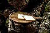 Bandeja de madeira natural Prato Placa Mut Prato Bandeja de servir de bambu