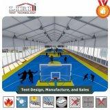 Aluminiumrahmen-Raum-Überspannung Sports Zelt mit hoher Dachgesims-Höhe für Badminton-Spiele