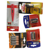 Полноавтоматические Профессиональные Волдырь Батареи и Машина Упаковки Бумаги