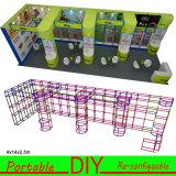 Изготовленный на заказ портативная модульная конструкция 8FT стойла выставки торговой выставки 10FT