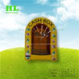 Máquina de dinheiro de publicidade Cube Mealheiro insufláveis