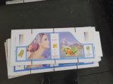 4 Farben-Wasser-Tinten-Typ Karton-Drucken-Maschine