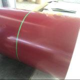 Chapa de aço ondulada galvanizada material de construção da folha de Flate para a telhadura