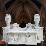 Церковь мраморный алтарь T-6840