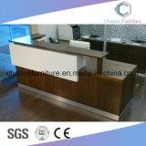 Modern Furniture U Shape Office Desk Wooden Reception Counts (CAS-RD1801)