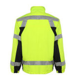 OEM индивидуальные хлопка светоотражающие куртки безопасности