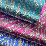 La seta ha stampato il cuoio di pattino del sacchetto del Faux dell'unità di elaborazione di scintillio del tessuto