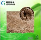 Filterpapier-Rolle mit Baumwolle anstreichen