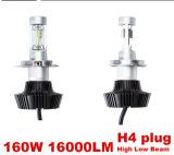 8000lmヘッドライトキット、車のためのH7/H11/9006、LEDのヘッドライト、車LEDランプ