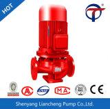 Pompe à incendie intégrée à plusieurs étages verticale de moteur diesel de Liancheng