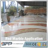 Populaire Rode Decoratie 10mm van het Agaat van China Dikke Marmeren Tegel voor het Opgepoetste Behandelen van de Muur of van de Vloer