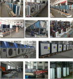 セリウム、オーストラリア、ニュージーランドの証明書3kw 150L、5kw 200L、7kw 260Lの9kw 300L 60deg c水国内空気ソースヒートポンプ