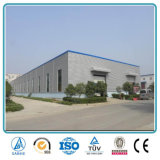 Edificio prefabricado de la estructura de acero de la fábrica del metal del calibrador ligero
