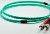 FC a FC 10g OM3 / OM4 multimodo 50/125 Modo acondicionado de fibra óptica Patch Cable