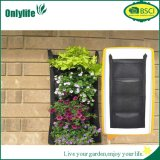 Onlylife PE Fabric Vertial Hanging Planter Garden Grow Bag