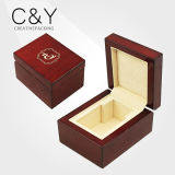 PU Leather Wood Perfume Bottle Display Box