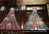 LEDの装飾の蝶Bowknotのクリスマスのモチーフの屋外ライト