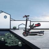 アルミ合金フレームが付いているシートが付いている電気バイクを折る8インチ