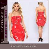 熱い方法女性の衣服のセクシーなランジェリーの革Bodyconの服(TGP830)