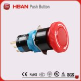 工場価格のセリウムISO9001 ULの非常停止のDpstのきのこの押しボタンの緊急の押しボタンスイッチロックアウト