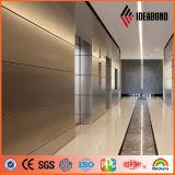 4mm 0.5mm 외벽 PVDF 코팅 알루미늄 클래딩 위원회