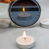 Blanc pur Tea Light Bougie de cire avec de longs moments Buring