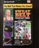Soporte de la parte posterior de la correa del entrenamiento de la cintura de la correa del sudor de la cintura