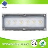 Lampada bianca del giardino di alto potere LED di Epiatar 6*1W con il punto