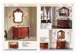 Amerikanischer festes Holz-Badezimmer-Schrank in der Qualität