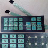 Polyester Push Button Membrane Panel Switch für Microwave Oven