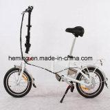 """16 """"電気バイクを折るタイヤ250W"""