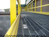 Balustrade de FRP/matériau de construction/échelle/frontière de sécurité/rambarde de fibre de verre