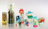 Fábrica china Custom claro PP embalaje plástico de PVC Pet Caja de regalo