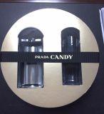 Cassetto di plastica della bolla con la scheda di fronte di carta