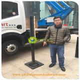 Tapis de la route temporaire de la construction de la grue ou de la sécurité de la jambe Outrigger Pad