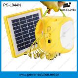Lampada e lanterna solari ricaricabili portatili della batteria di litio LED con il carico del telefono